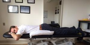 Akut hold i ryggen øvelse 1