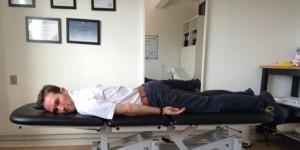 Akut hold i ryggen øvelse 2