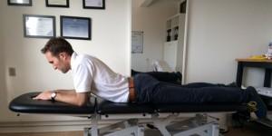 Akut hold i ryggen øvelse 3