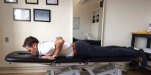 Akut hold i ryggen øvelse 4