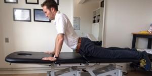 Akut hold i ryggen øvelse 5